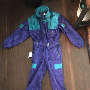 Men's vintage DESCENTE ski suit